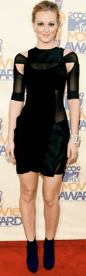 Movie Awards Style: Leighton Meester