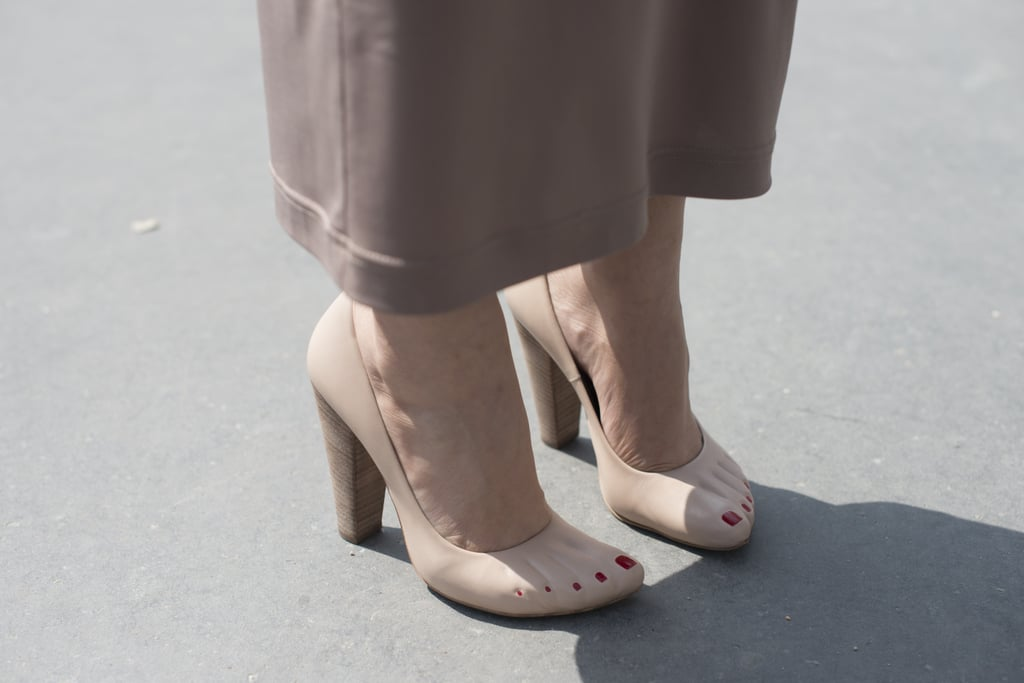 It's not hard to see why these Céline pumps turned heads.