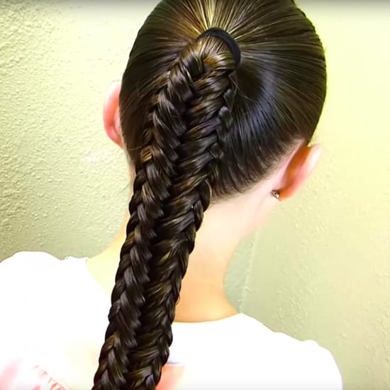 Twisted Fishtail Braid DIY
