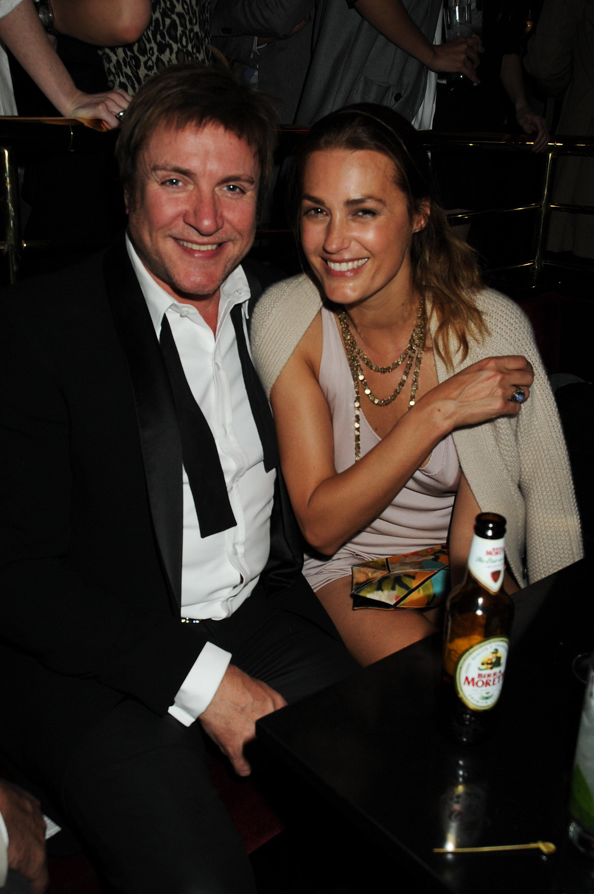 """Duran Duran lead singer Simon Le Bon has been married to supermodel Yasmin Le Bon since 1985. The couple have three daughters and have even worked together: Yasmin is part of a group of models who star in the music video for Duran Duran's song """"Girl Panic."""""""