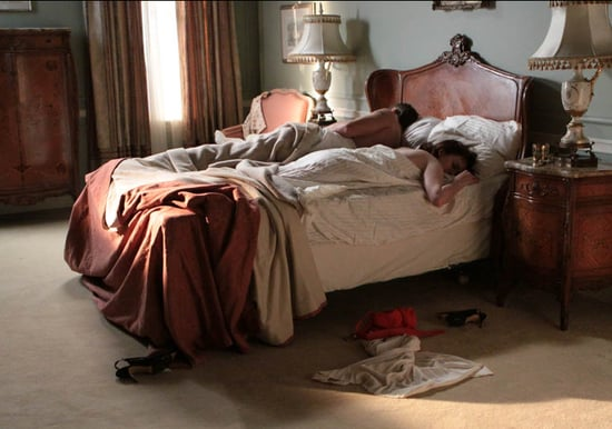 Peggy Sleeping With Duck on Mad Men