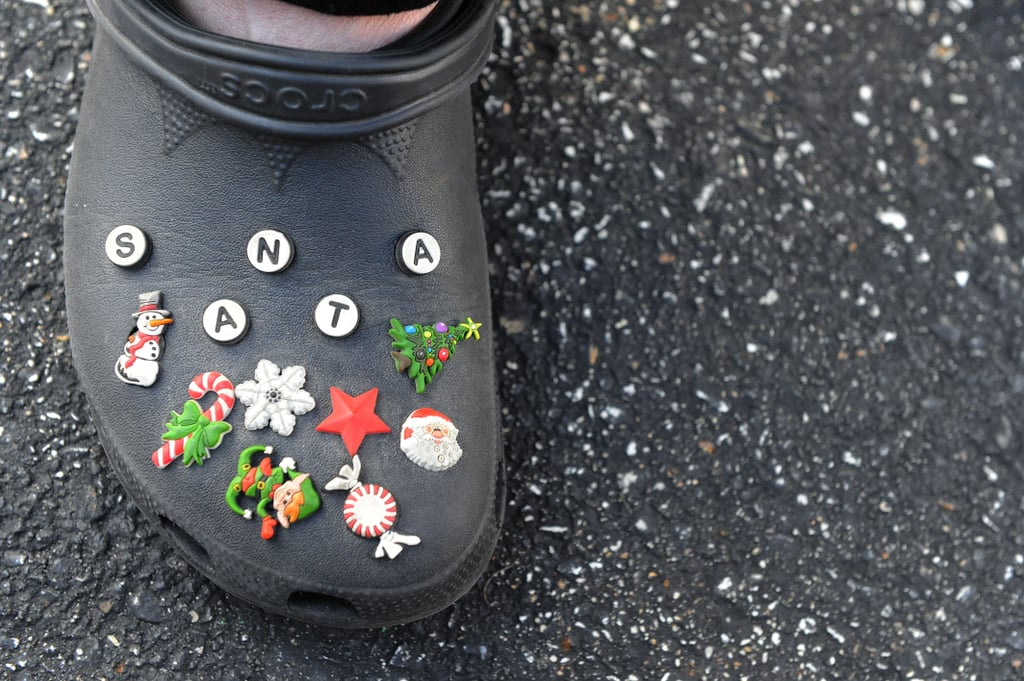 But Crocs went too far when Santa got involved.