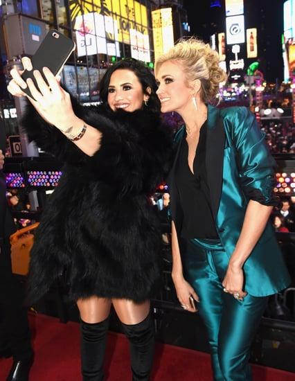 Latin Celebrities Celebrating New Year's Eve 2015