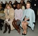 Lupita Nyong'o made her New York Fashion Week debut at the Calvin Klein Fall 2014 show on Thursday, sitting next to Naomi Watts and Anna Wintour.