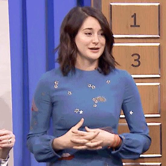 Shailene Woodley Plays Pictionary on The Tonight Show