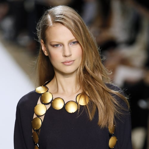 Chloé Runway Hair and Makeup Fall 2014 Paris Fashion Week