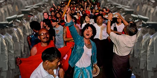 Weekend Roundup: Victory in Myanmar for Democracy -- On a Leash