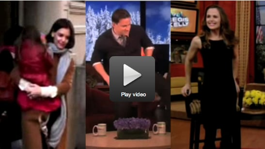 Katie and Suri in NYC, Channing's Lap Dance For Ellen, and Jennifer on Romance With Ben