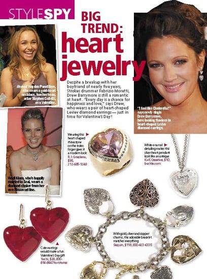 Trend Alert: Heart Jewelry