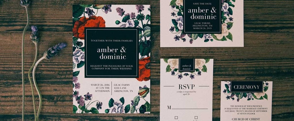 The Best Places to Order Gorgeous Wedding Invitations Online