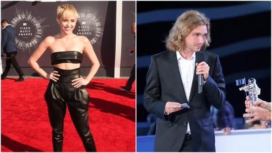 Miley Cyrus's Cute Homeless Date is Selling Their 2014 VMAs Award on eBay