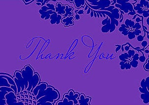 Why Didn't Anybody Tell Me: Thank-You Notes