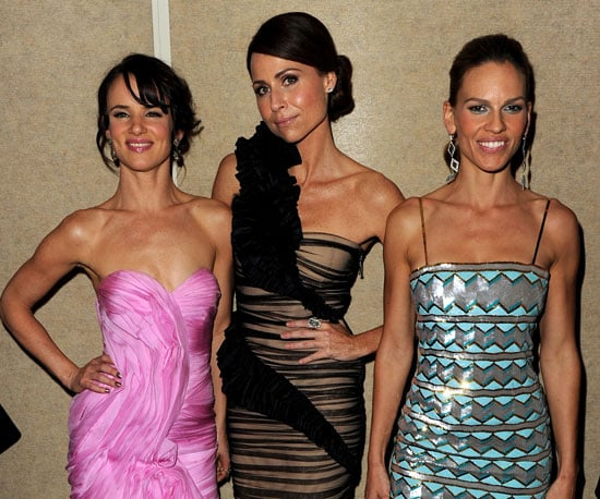 Slide Picture of Juliette Lewis, Minnie Driver, and Hilary Swank