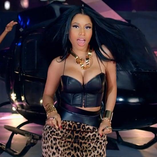 """Nicki Minaj's """"Bang Bang"""" Music Video"""