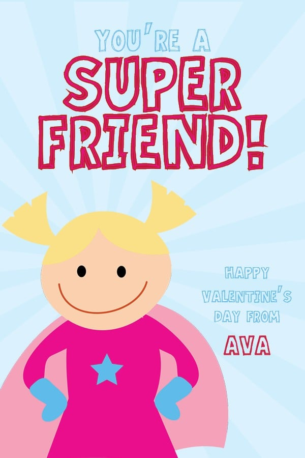 Super Friend Card
