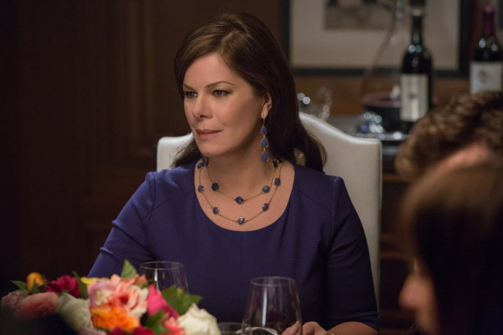 Meet Christian's adoptive mother, Grace Trevelyan Grey, played by Marcia Gay Harden.