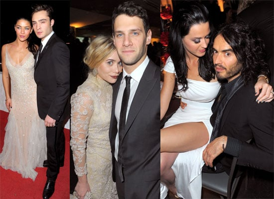 Photos from the Art of Elysium Gala in Los Angeles Including Couples Russell Brand and Katy Perry, Ed Westwick and Jessica Szohr
