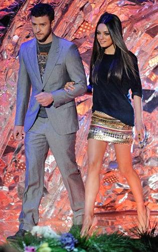 Mila Kunis at 2011 MTV Movie Awards