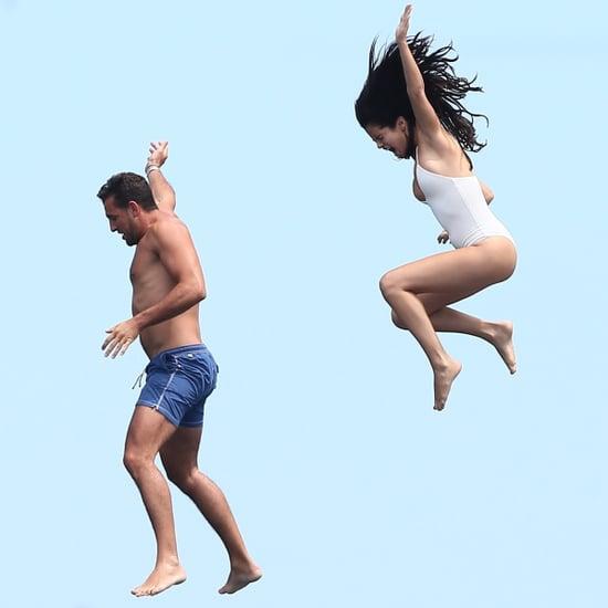 Selena Gomez and Cara Delevingne in a Bikini in Saint-Tropez