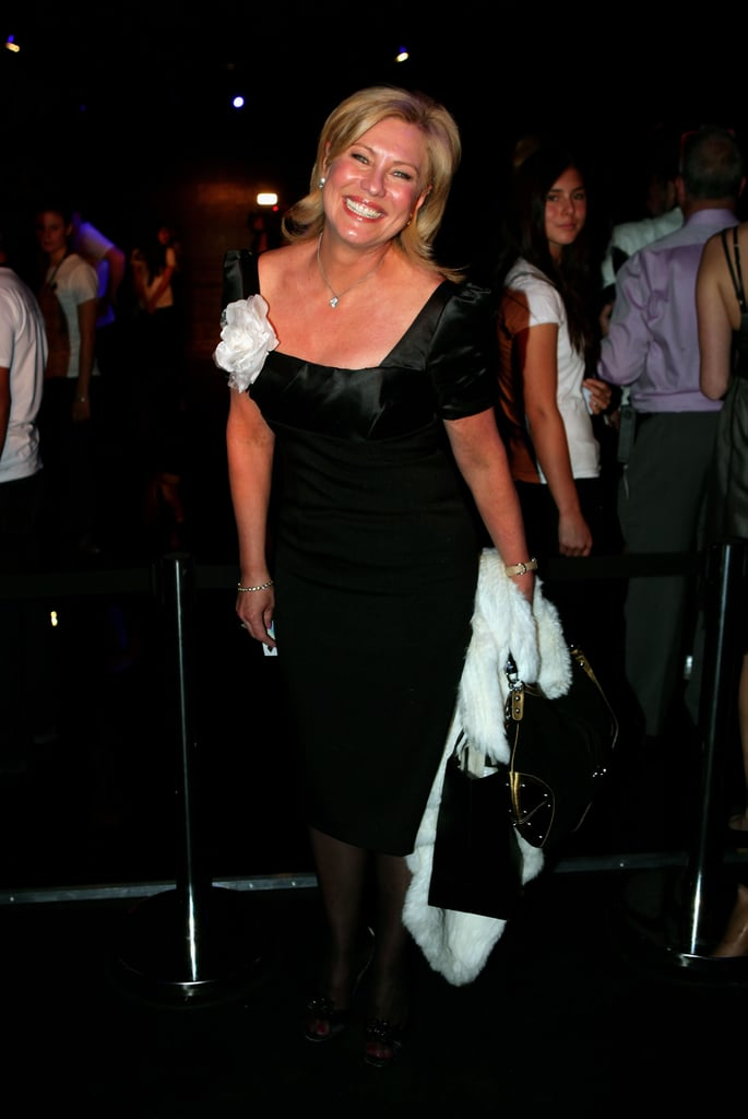 Kerri-Anne Kennerley flashed a huge smile at Nicola Finetti in 2009.