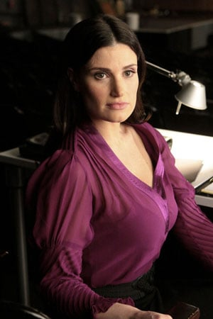 Your first look at Idina Menzel as Shelby Corcoran.