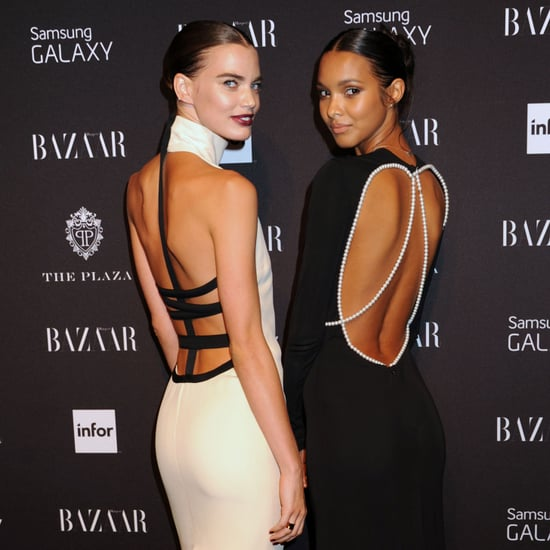 Models at Harper's Bazaar' Icons by Carine Roitfeld Party