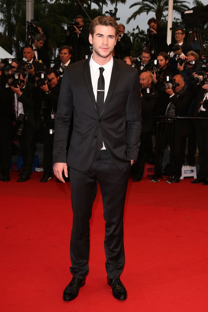 Liam Hemsworth suited up for the premiere of Jimmy P. (Psychotherapy of a Plains Indian).