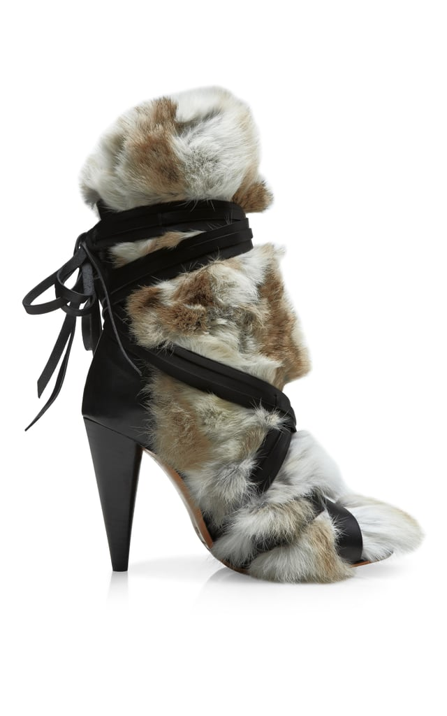 Isabel Marant fur-covered Pietra boot ($1,940)