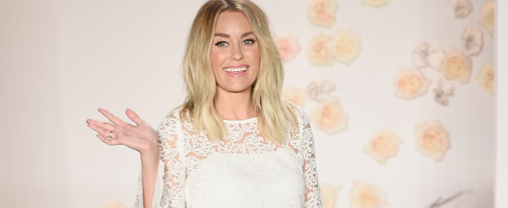Lauren Conrad's NYFW Debut Was Feminine Perfection