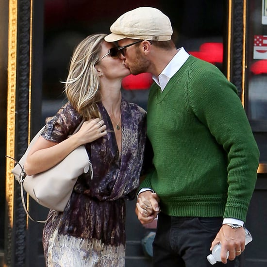 Gisele Bundchen and Tom Brady Kissing in NYC | Pictures