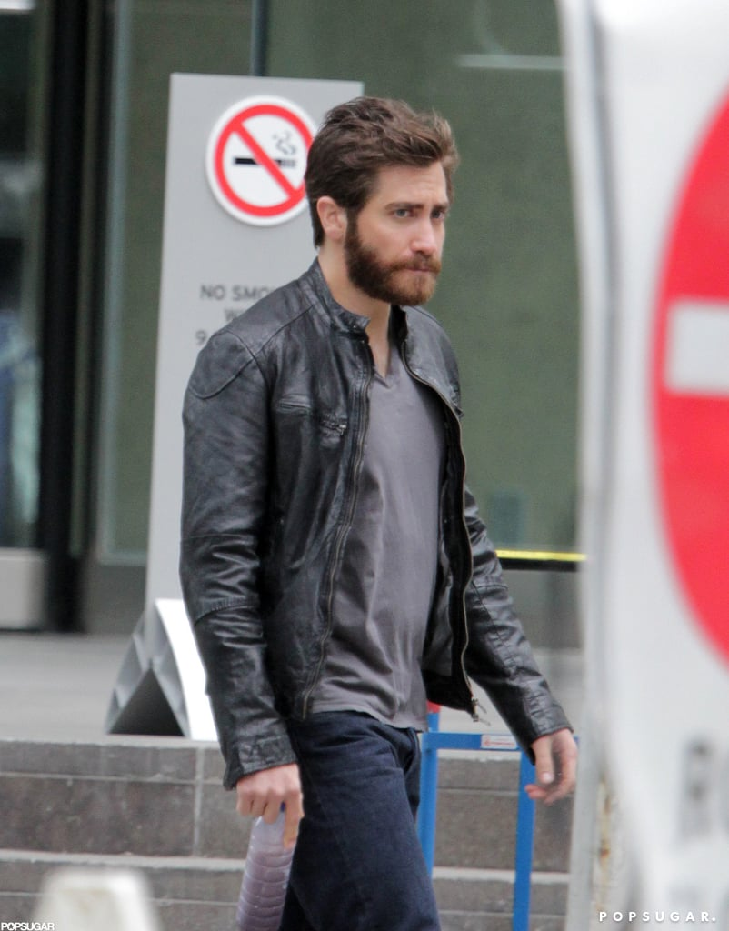 Jake Gyllenhaal kept his scruff for his latest film, An Enemy.