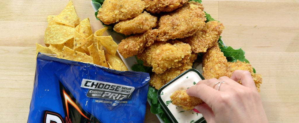 Yes You Can (and Should) Coat Chicken Tenders in Cool Ranch Doritos