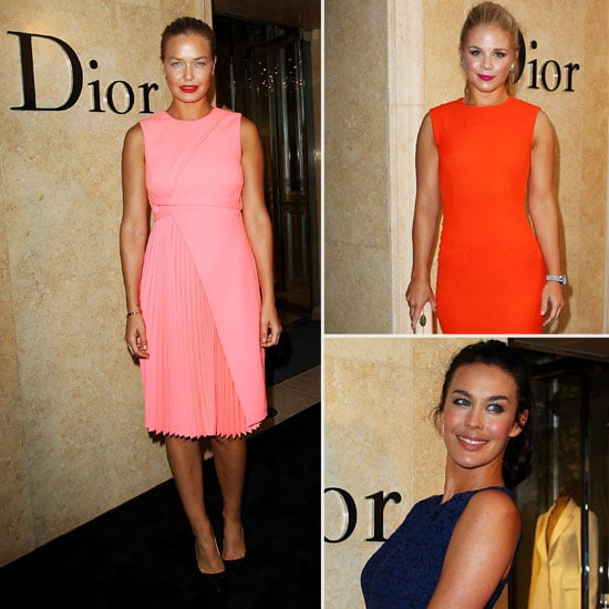 Sydney's Style-Set Step Out For Dior's Grand Re-Opening