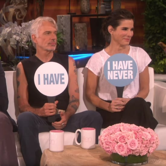 Sandra Bullock Playing Never Have I Ever on The Ellen Show