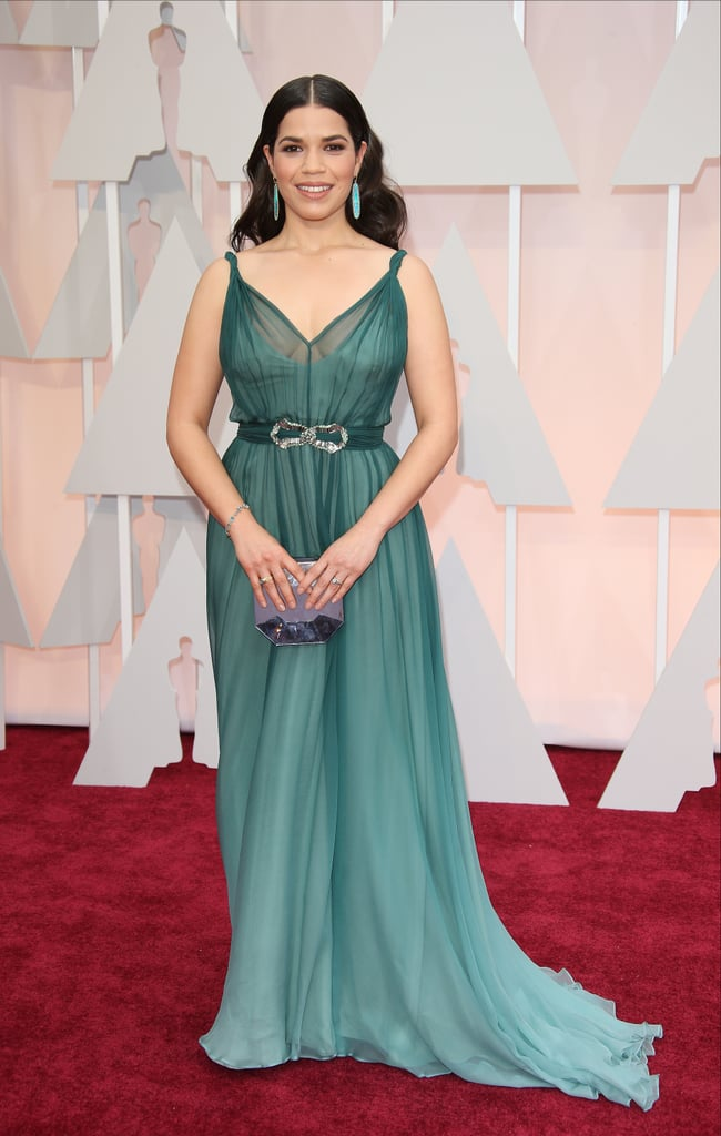 America Ferrera at the 2015 Academy Awards