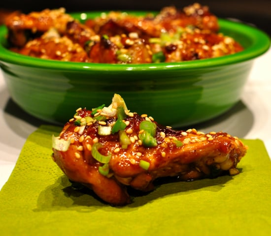 Sticky Sesame Chicken Wings