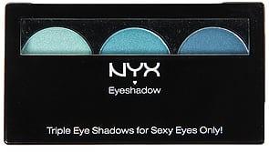 *Accessories Boutique The NYX Eyeshadow Trio in Aqua Marine