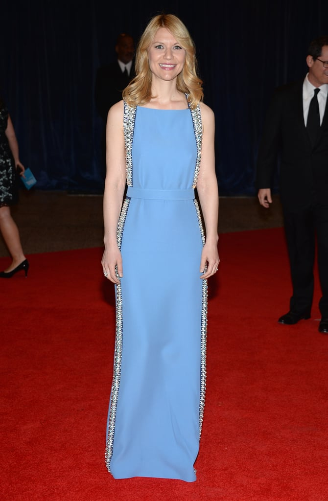 Claire Danes picked Prada for the 2013 White House Correspondents Dinner.