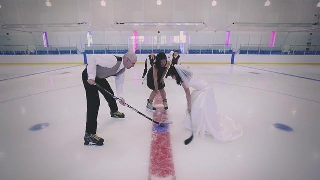Ice Rink Ceremony