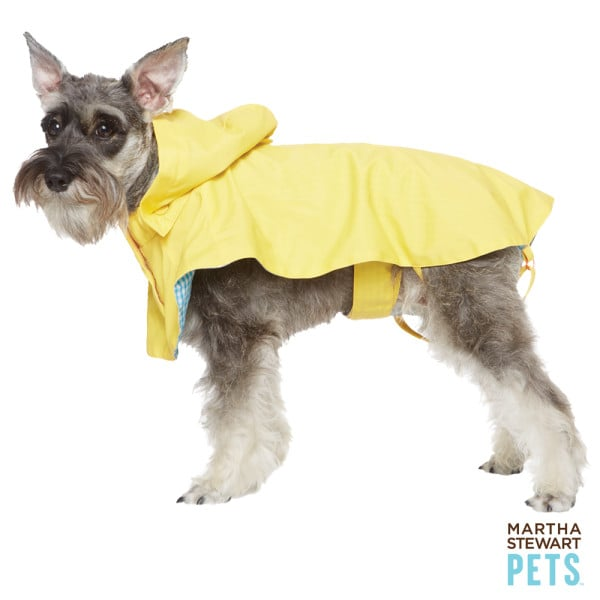 This Martha Stewart Pets gingham raincoat ($20, originally $25) is a classic choice that will get your dog excited for Spring showers.