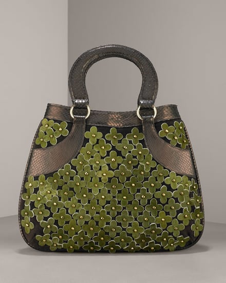 Oscar de la Renta Haircalf Flower Satchel: Love It or Hate It?