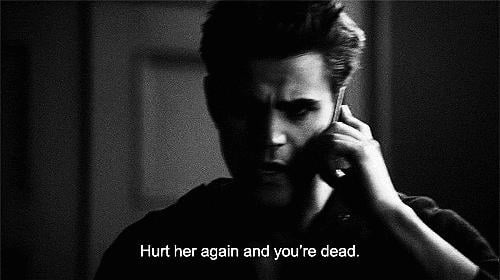 But he never stays the Ripper for long. Too many feelings!