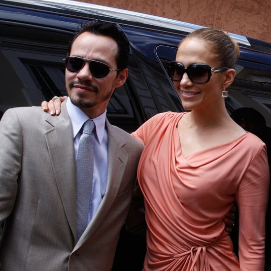 Pictures of Jennifer Lopez and Marc Anthony in Bayamon, Puerto Rico