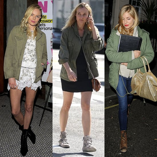 Army Jacket Spring Trend