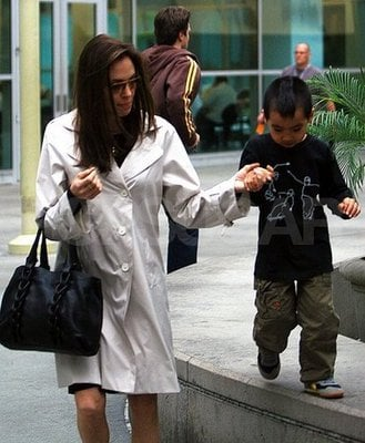 Angelina Buys Maddox a Bizarre Pack of Gum