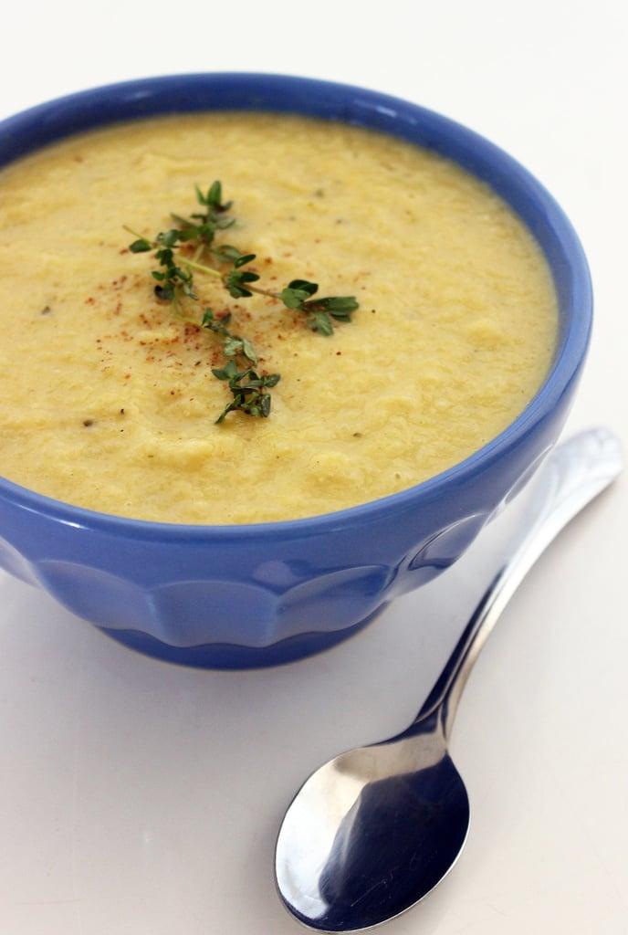 Creamy Cauliflower Bisque