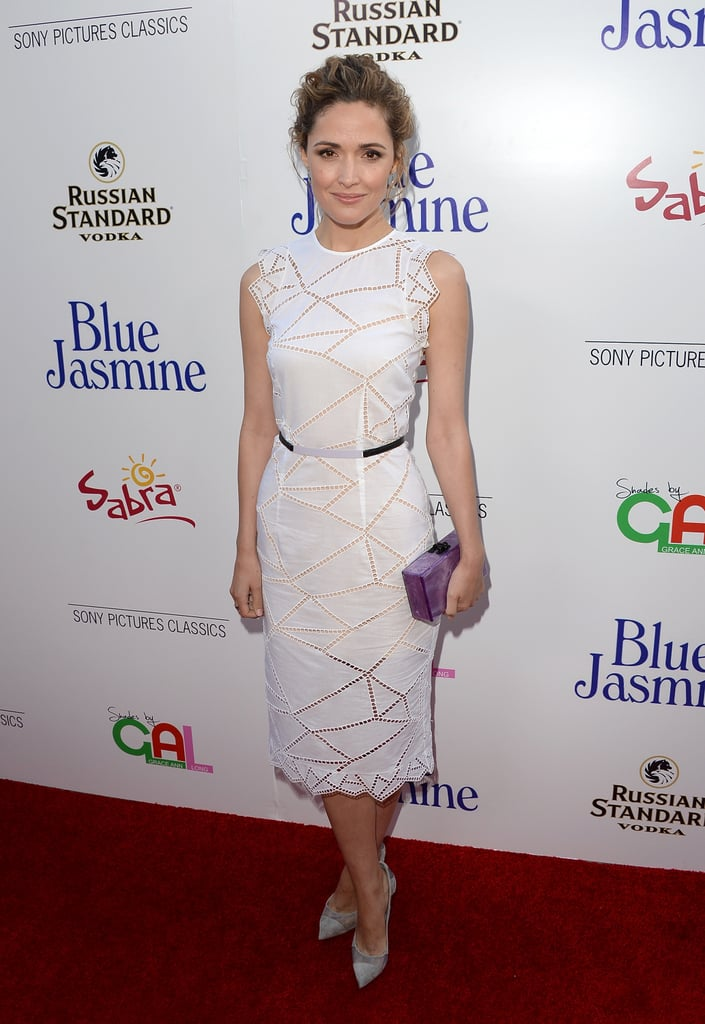 Rose Bynre turned heads for all the right reasons on July 24, when she attended the premiere of Woody Allen's Blue Jasmine in Hollywood.