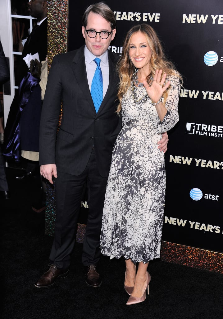 Sarah Jessica Parker waved to screaming fans and the photographers.