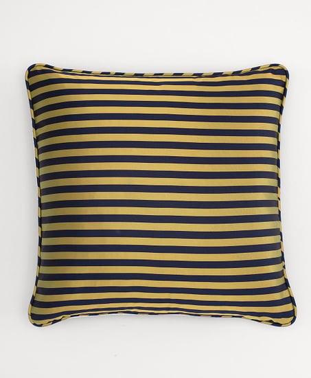 Horizontal Guard Stripe Square Pillow ($288)