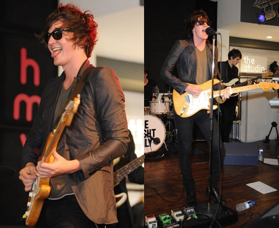 Pictures of George Craig Performing With One Night Only in London Amid Emma Watson Girlfriend Boyfriend Rumours